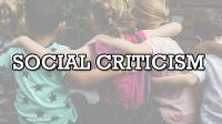 kritik sosial adalah