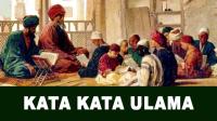 Kata Kata Ulama